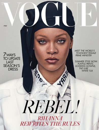 Rihanna for Vogue UK May 2020 Cover B