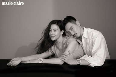 Sunny Wang and Dizzy Dizzo for Marie Claire Taiwan May 2020-10