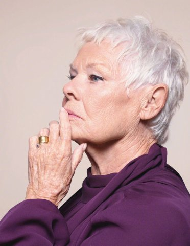 Judi Dench for British Vogue June 2020-4