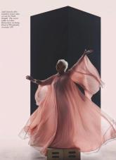 Judi Dench for British Vogue June 2020-6