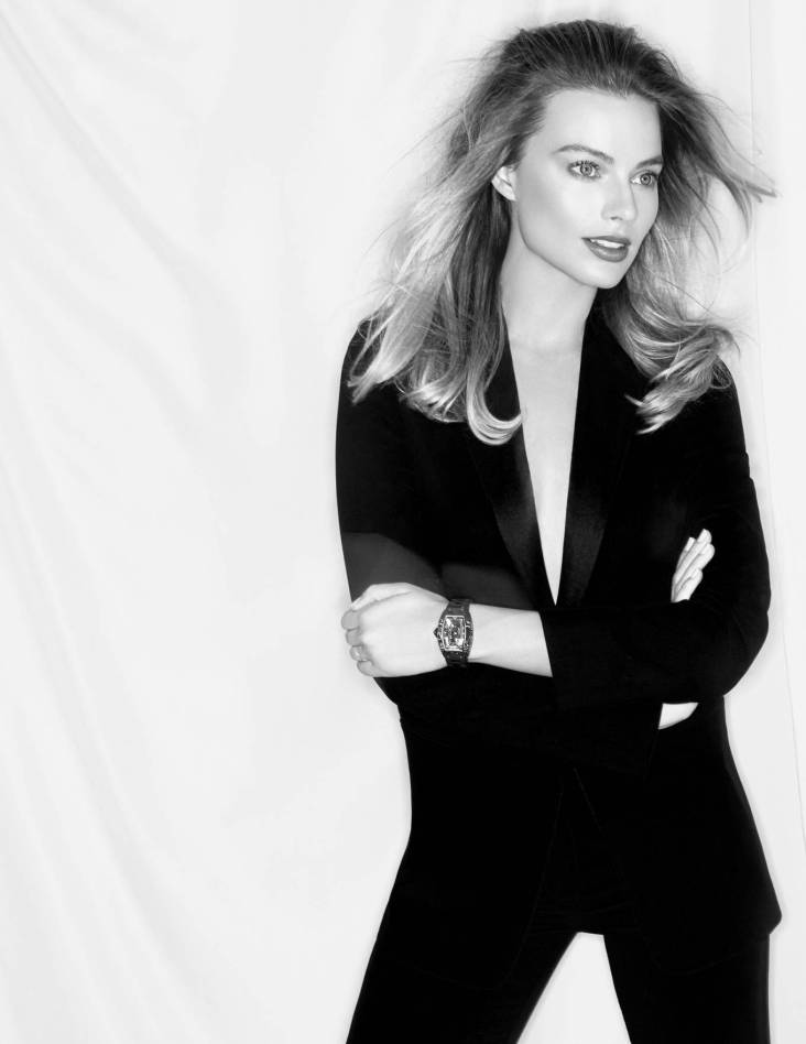 Margot Robbie for Richard Mille Watch 2020 Campaign-17