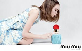 Stacy Martin Miu Miu Fragrance 2017 Campaign-4
