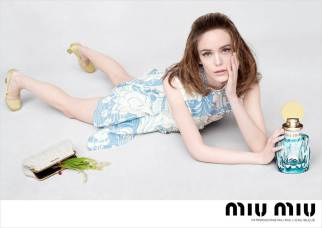 Stacy Martin Miu Miu Fragrance 2017 Campaign-7