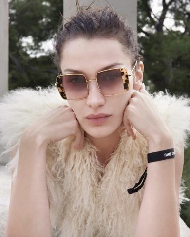 Bella Hadid for Miu Miu Eyewear Spring 2020 Camapign-3