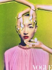 Zhou Dong Yu for Vogue China July 2020-4