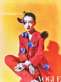 Zhou Dong Yu for Vogue China July 2020-5