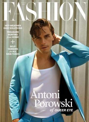Antoni Porowski Fashion Magazine Summer 2020 Cover B