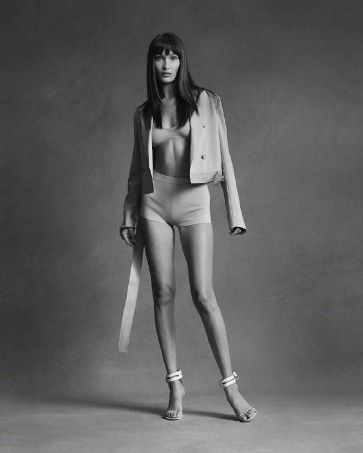 Bella Hadid for Helmut Lang Pre-Fall 2020 Campaign-6