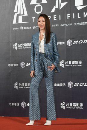 Cheryl Yang in Gucci Pre-Fall 2020-1