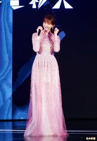 Chi-ling Lin in Valentino Pre-Fall 2020-2