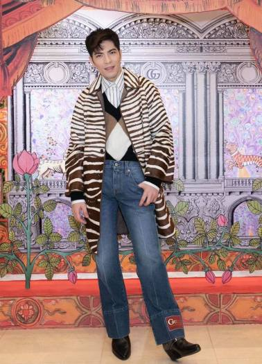 Jam Hsiao in Gucci Pre-Fall 2020-1