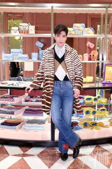 Jam Hsiao in Gucci Pre-Fall 2020-5