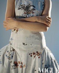 Natalia Vodianova for Vogue China August 2020-13