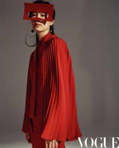 Natalia Vodianova for Vogue China August 2020-5