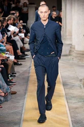 Giorgio Armani Spring 2020 Menswear